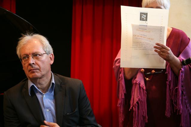 Massimo Raffaeli - socio onorario L.Di Ruscio
