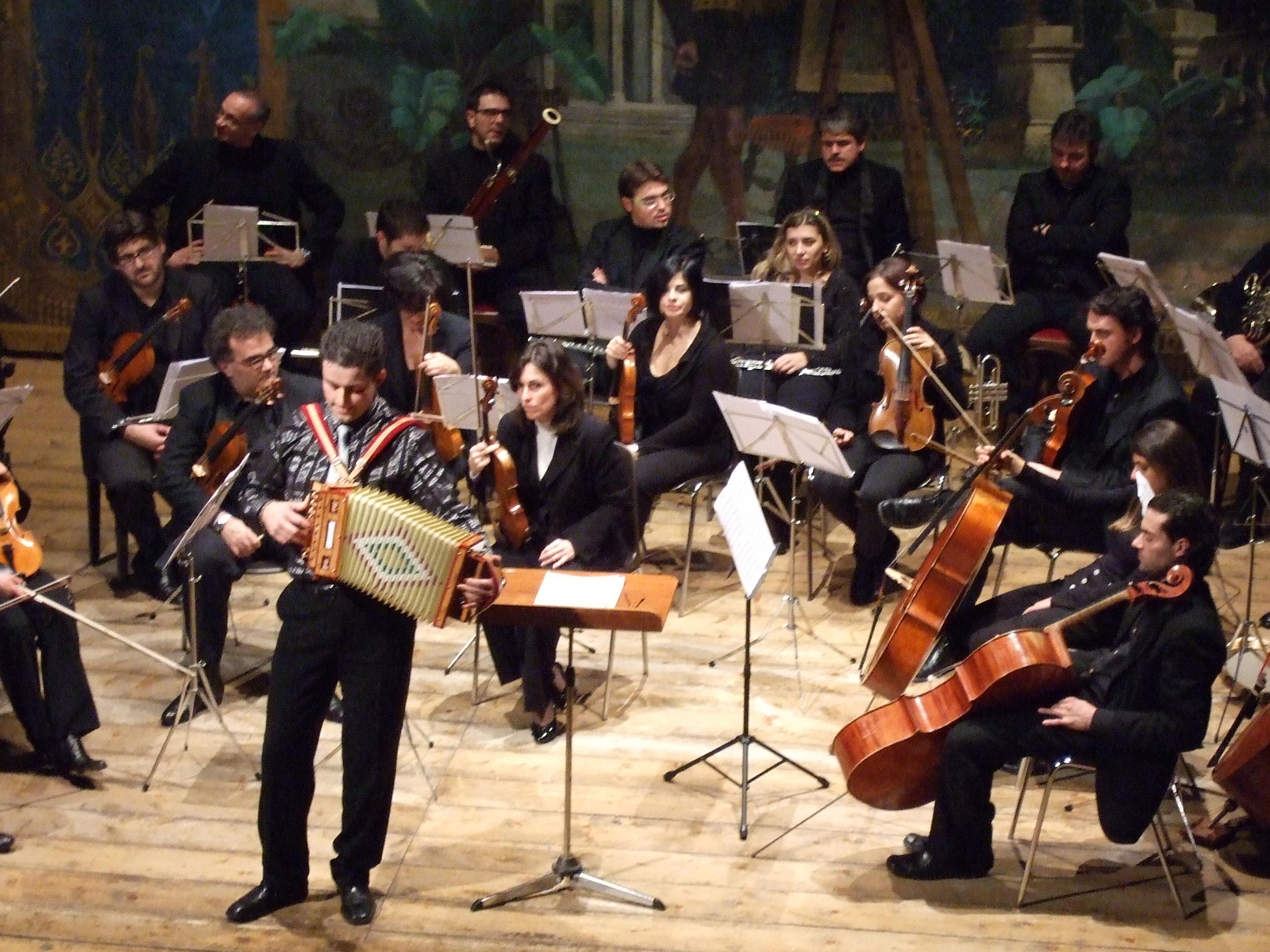 Francesco Tassoni e Orchestra Regionale delle Marche