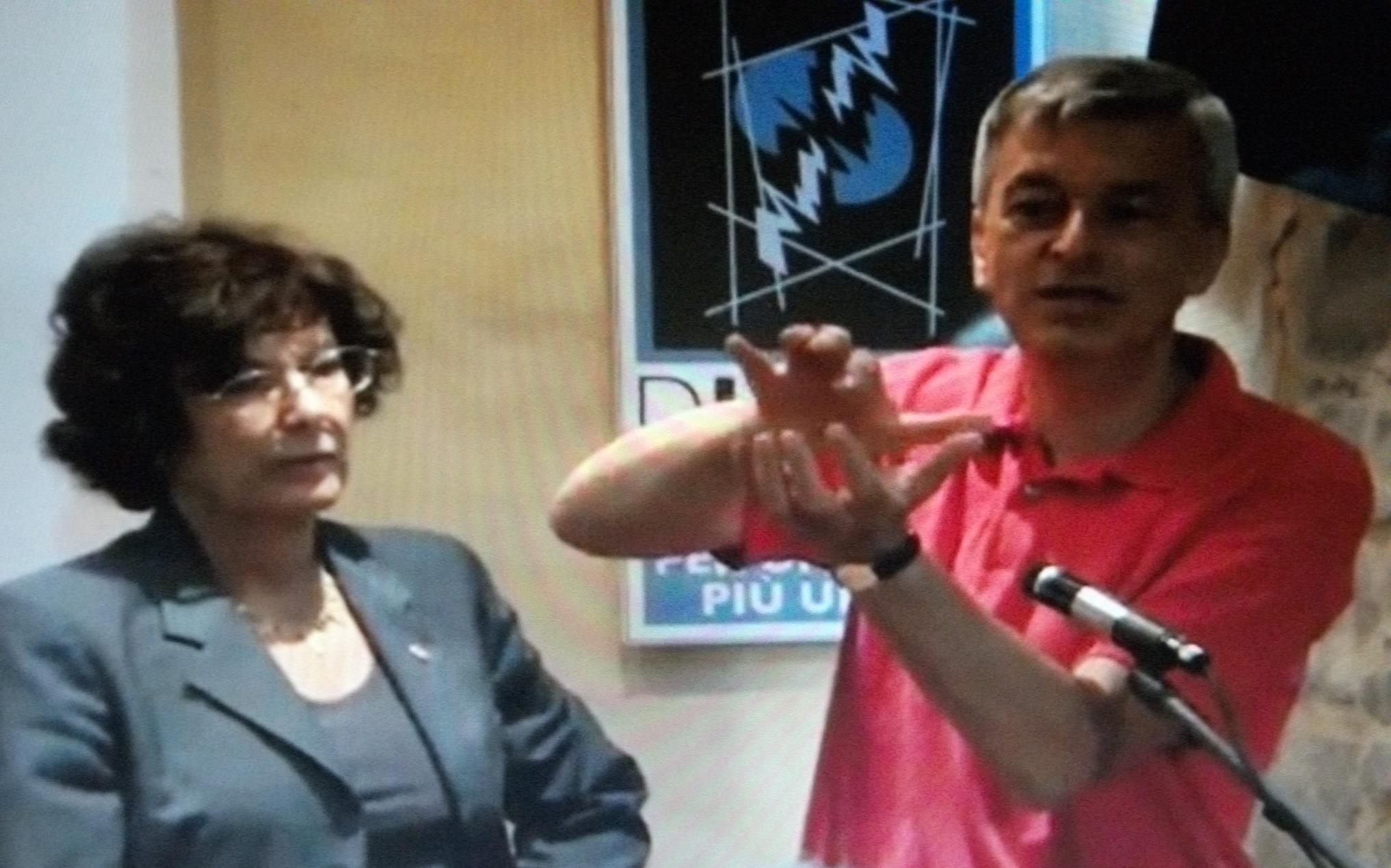 Antonietta Gatti e Stefano Montanari