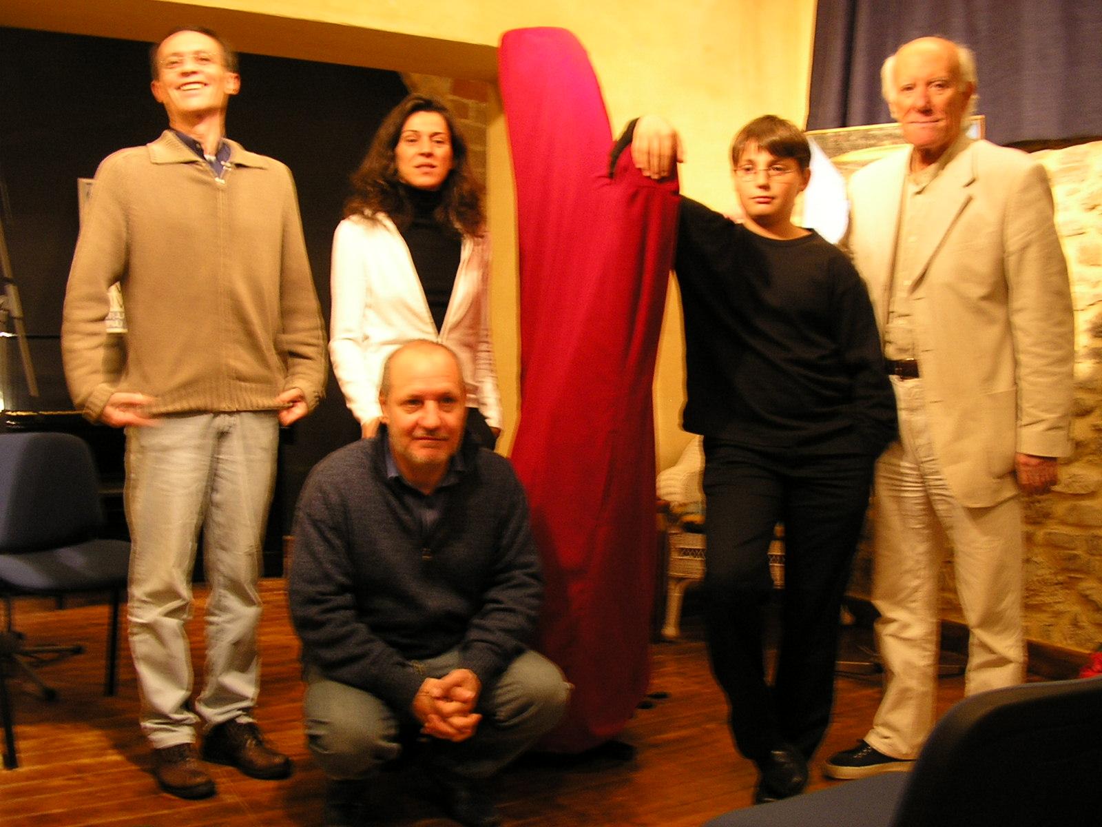 M. Boldrini, B. Mancini,k.Cardinali, E.Teodori, G. Giganti