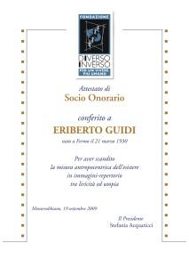 Attest. socio onorario 09-1