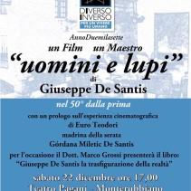 """"""" Uomini e Lupi"""" e il neorealismo degli anni '50 di Giuseppe De Santis"""