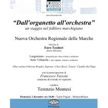 """""""Dall'organetto all'orchestra"""" un viaggio nel folklore marchigiano"""