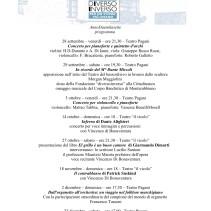 programma autunno 2007
